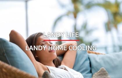 """บ้านเย็นอยู่สบายสไตล์ """" Landy Home Cooling"""""""